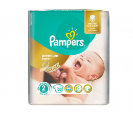 Pampers Premium Care 2 Mini 3-6kg 22szt (4015400687733)