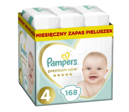 Pampers Premium Care 4 Maxi 8-14kg 168szt Zapas (8001090379511            )