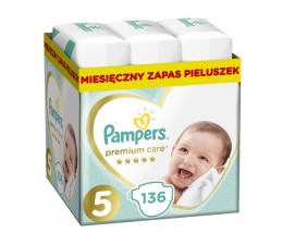 Pampers Premium Care 5 Junior 11-16kg 136szt Zapas (8001090959690            )