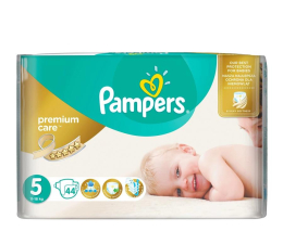 Pampers Premium Care 5 Junior 11-18kg 44szt (4015400278870 Premium VP)