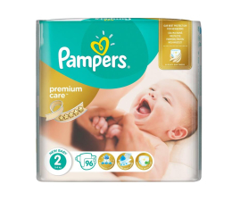 Pampers Premium Care Jumbo Pack 2 Mini 96 szt. (4015400743248)