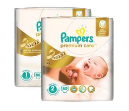 Pampers Premium Care roz. 1 i 2 168szt. zapas na miesiąc (4015400817659)