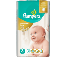 Pampers Premium Care VP 3 Midi 60 szt. (4015400274780 )