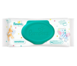 Pampers Sensitive 56 szt. (4015400636649)