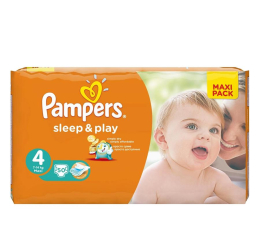 Pampers Sleep&Play 4 Maxi 50 szt. (4015400224242)