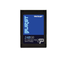 Patriot 240GB 2,5'' BURST SATA SSD (PBU240GS25SSDR)