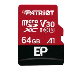Patriot 64GB EP microSDXC 100/80MB (odczyt/zapis) (PEF64GEP31MCX)