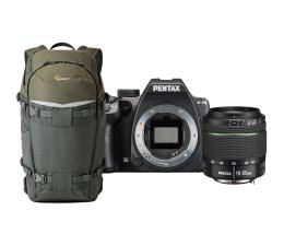 Pentax K-70 + 18-55mm + Lowepro Trek 350 (474600+478109)