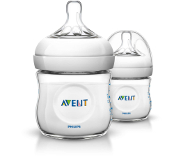 Philips Avent Butelka Do Karmienia NATURAL 125ml 0m+ 2szt (SCF690/27)