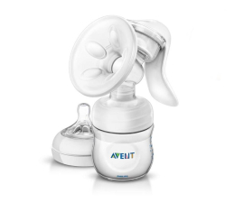 Philips Avent Laktator Ręczny NATURAL +Butelka 125ml 0m+ (SCF330/20)