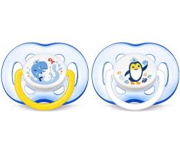 Philips Avent Smoczek Ortodontyczny 18m+ 2szt Niebieski (SCF186/24 Freeflow)