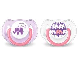 Philips Avent Smoczek Ortodontyczny 6-18m+ 2szt Różowy (SCF195/30 Classic+)