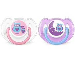 Philips Avent Smoczek Ortodontyczny 6-18m+ 2szt Różowy (SCF197/22 Freeflow)