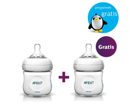 Philips Avent Zestaw promocyjny - Butelki Natural 125ml - 2 szt. (8710103648574)