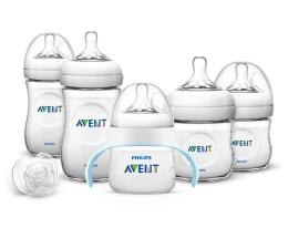 Philips Avent Zestaw startowy Natural (butelki, kubek, smoczek) (SCD290/05  BPA Free)
