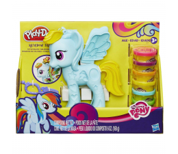 Play-Doh Salon Fryzjerski Rainbow Dash (B0011)