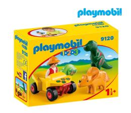 PLAYMOBIL Badacz dinozaurów z quadem (9120)