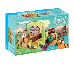 PLAYMOBIL Boks stajenny Lucky i Spirit (9478)