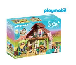 PLAYMOBIL Boks stajenny z Lucky, Pru i Abigail (70118)