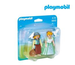 PLAYMOBIL Duo Pack Księżniczka i służebna (6843)