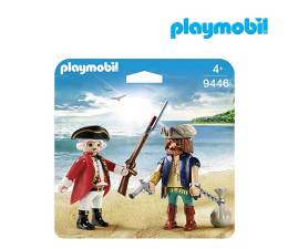 PLAYMOBIL Duo Pack Pirat i żołnierz (9446)