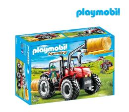 PLAYMOBIL Duży traktor z wyposażeniem (6867)
