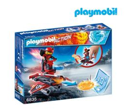 PLAYMOBIL Firebot z wyrzutnią dysków (6835)
