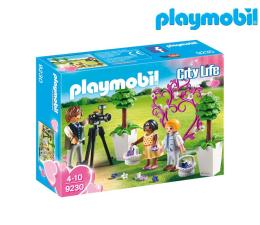 PLAYMOBIL Fotograf i dzieci z kwiatkami (9230)