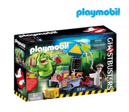 PLAYMOBIL Ghostbusters Slimer przy budce z hotdogami (9222)