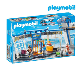 PLAYMOBIL Lotnisko z wieżą kontrolną (5338)