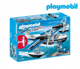PLAYMOBIL Policyjny samolot wodny (9436)