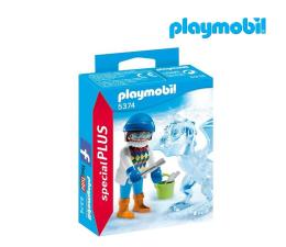 PLAYMOBIL Rzeźbiarka z lodową rzeźbą (5374)