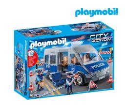 PLAYMOBIL Samochód policyjny z blokadą drogową (9236)