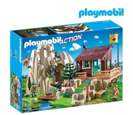 PLAYMOBIL Skała do wspinaczki z chatą górską (9126)