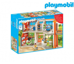 PLAYMOBIL Szpital dziecięcy z wyposażeniem (6657)