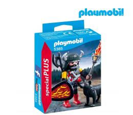 PLAYMOBIL Wojownik z wilkiem (5385)