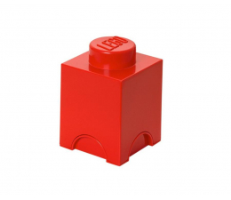 POLTOP LEGO Pojemnik Brick 1 czerwony (40011730)