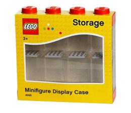 POLTOP LEGO Pojemnik na 8 minifigurek czerwony  (40650001)
