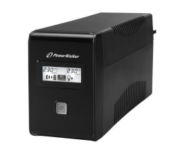 Power Walker VI 850 LCD (850VA/480W) 2xPL USB LCD (VI 850 LCD FR)