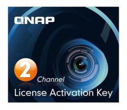 QNAP Licencja Camera License Pack (2 dodatkowe kamery) (LIC-CAM-NAS-2CH)