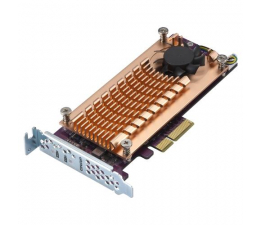 QNAP QM2-2P-244A (2x SSD M.2 22110/2280 NVMe)  (QM2-2P-244A (PCIe Gen2 x4) )