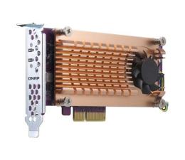 QNAP QM2-2P-344 (2x SSD M.2 22110/2280 NVMe)  (QM2-2P-344 (PCIe Gen3 x4) )