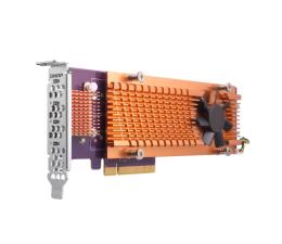 QNAP QM2-4P-384 (4x SSD M.2 2280 NVMe)  (QM2-4P-384 (PCIe Gen3 x8) )