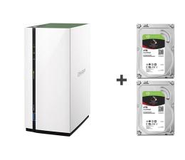 QNAP TS-228A 8TB (2xHDD, 4x1.4GHz, 1GB, 3xUSB, 1xLAN)  (TS-228A (w zestawie 2xST4000VN008))