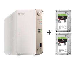 QNAP TS-251B-2G 8TB (2xHDD, 2x2-2.5GHz, 2GB, 5xUSB) (TS-251B-2G (w zestawie 2xST4000VN008))