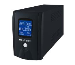 Qoltec Zasilacz awaryjny UPS 1000VA 600W LCD (53913)