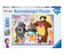 Ravensburger Masza i Niedźwiedź Puzzle 100 elementów (105908)