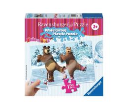 Ravensburger Masza i Niedźwiedź Święto na lodzie Puzzle 12 el. (056064)