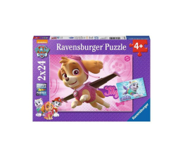 Ravensburger Psi Patrol Skye & Everest 2X24 elementów (RAP091522)