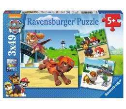 Ravensburger Psi Patrol: Zespół na 4 Łapach 3 X 49 elementów (RAP092390)